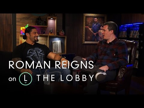 Roman Reigns on Getting Scanned Into a Video Game - The Lobby (видео)