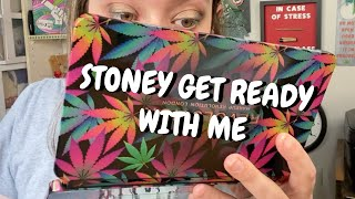Cannabis Themed Eyeshadow Palette?! Stoney Get Ready With Me by Chronic Crafter