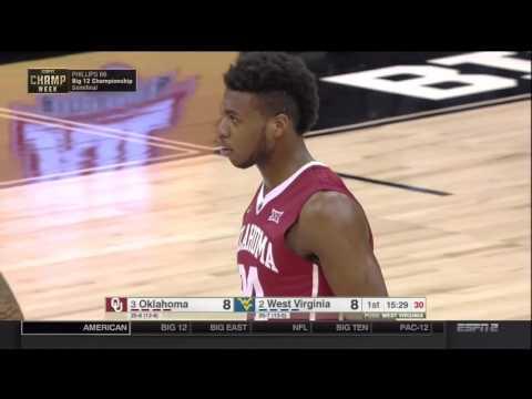 NCAAB 03 12 2016 Big 12 Tournament Semifinal Oklahoma vs West Virginia