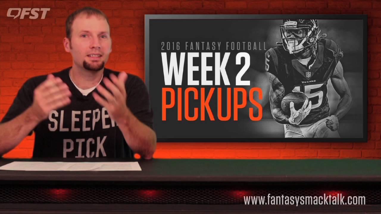 Fantasy Football: Week 2 Waiver Wire thumbnail