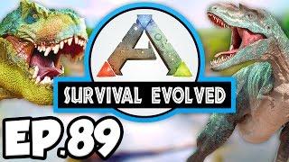 ARK: Survival Evolved Ep.89 - MINDWIPE TONIC & HIDDEN ARTIFACT CAVE!!! (Modded Dinosaurs Gameplay)