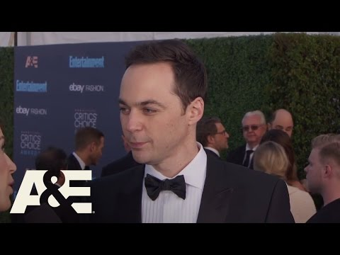 Jim Parsons on the Red Carpet   22nd Annual Critics' Choice Awards   A&E