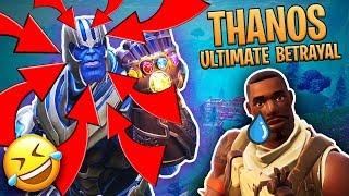 Video Ultimate Thanos Anime Betrayal! (Fortnite Infinity Gauntlet Mode) MP3, 3GP, MP4, WEBM, AVI, FLV Juni 2018