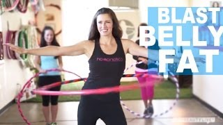 Blast Your Belly Fat With a Hula Hoop