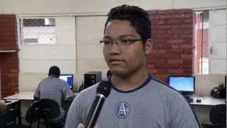 VÍDEO: Alunos da rede estadual de ensino fazem Avaliação de Aprendizagem