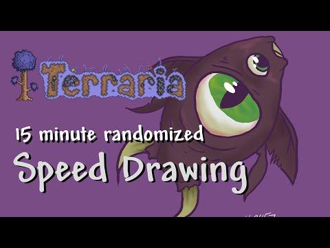 Video thumbnail for 15min QuickDraw – Terraria Item Randomiser 6 – Eater of Plankton
