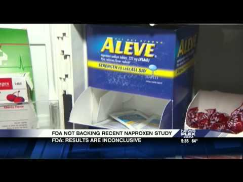 CBS19 Healthwise - Is Naproxen Safe for Patients with Heart Issues?