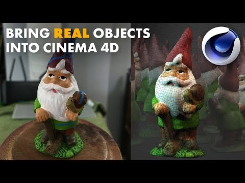 How to bring Real Life Objects into Cinema 4D: Photogrammetry Start to Finish.
