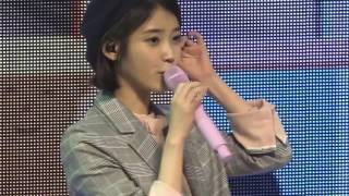 170422 IU in Sudden Attack Fanmeeting