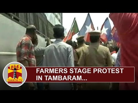 Farmers-stage-protest-in-Tambaram-seeking-release-of-Water-from-Cauvery-River-Thanthi-TV