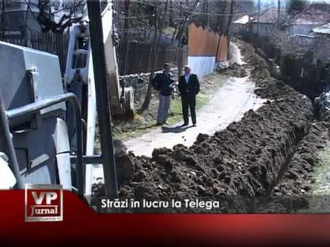 Străzi în lucru la Telega