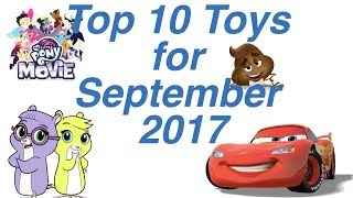 Top 10 Toys in September 2017
