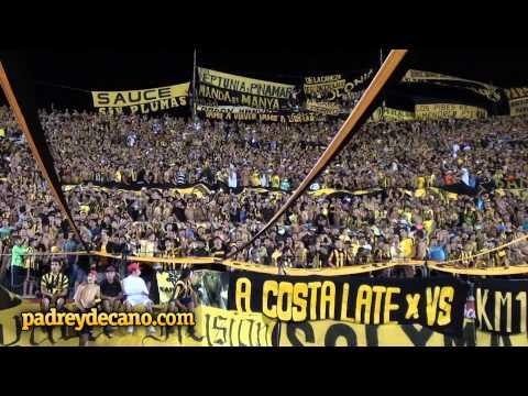 Canciones de la hinchada de Peñarol   Clásico Copa Bimbo 2013   Peñarol 1 Hijos 0 - Barra Amsterdam - Peñarol