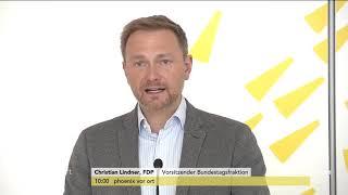 Christian Lindner zur möglichen Fusion von Deutsche Bank und Commerzbank am 18.03.19