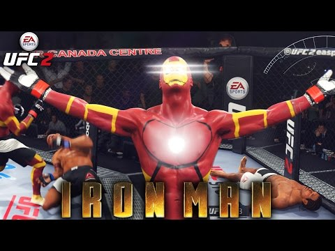 Ironman Knocking Everyone Out! Crazy Kos! Ea Sports Ufc 2 Ultimate Team Gameplay