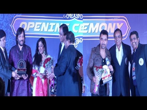 Ajaz Khan & Others At Opening Ceremony Of Bhinmal Premier League