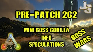 The patch 262 is going is just about to be released. What can we expect from the upcoming patch? I'll try to give some answers.None existing patch notes:https://survivetheark.com/index.php?/forums/topic/166421-pc-patch-notes-current-v261-upcoming/Twitter links:https://twitter.com/arkjeremy/status/884718276223393792https://twitter.com/bubblywumsLink to the bug fix picture:https://pbs.twimg.com/media/DEfW8Y8VoAAMh06.jpg