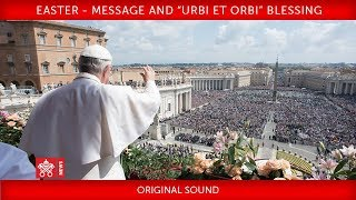 Pope Francis' Easter Message 2018