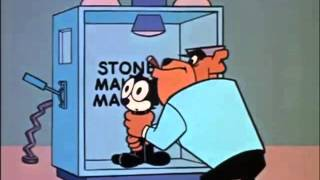 Another Felix the Cat cartoon from the 1950s.The Professor has created a dangerous machine that turns everything to stone and plans to use Felix for his first test. Enjoy!Felix the Cat created by Pat Sullivan and Otto Messmer