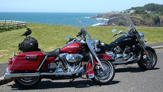 9. 2006 Harley Road King vs Yamaha Royal Star - MotoUSA