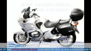 9. BMW R 1150 RT - Overview | Motorcycles for Sale from SoManyBikes.com