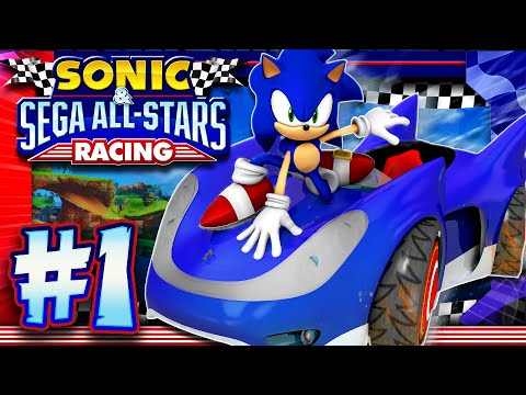 Sonic & Sega All Stars Racing PC - Part 1: Chao Cup (1440p 60FPS)