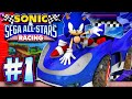 Sonic Sega All Stars Racing Pc Part 1: Chao Cup 1440p 6