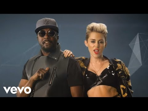 will.i.am & Miley Cyrus & Wiz Khalifa & French Montana - Feelin' Myself (2013)