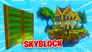 MY FIRST AUTO FARM! - Minecraft SKYBLOCK #13