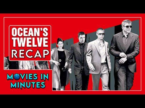 OCEAN'S TWELVE in 3 minutes (Movie Recap)