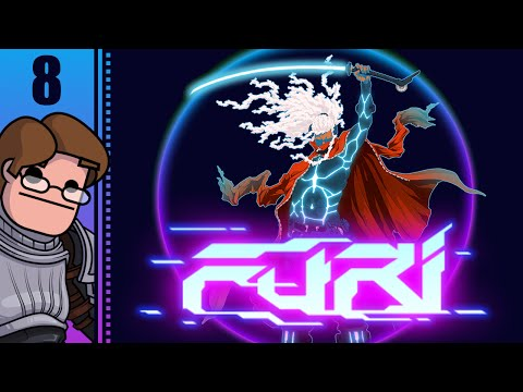 Let's Play Furi Part 8 - Eighth Boss Fight: The Edge