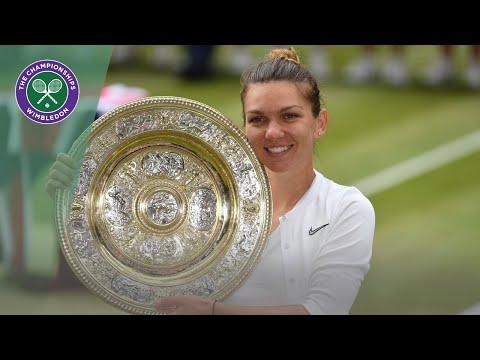 Simona Halep vs Serena Williams Wimbledon 2019 finals highlights