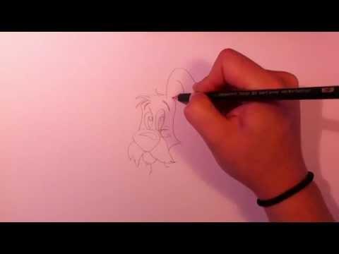 Idefix von Asterix und Obelix zeichnen lernen – Comic Figur malen