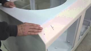 <h5>Flametec cabinet Heat Mold,V Cut, Sand, Route V Cut </h5>