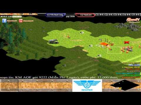 4 vs 4   Liên Quân Tiểu Bạch Long vs Liên Quân Vanelove Ngày 29-5-2015