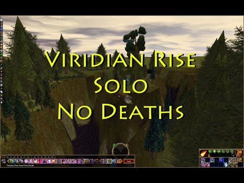 Asheron's Call Viridian Rise Solo 0 Deaths