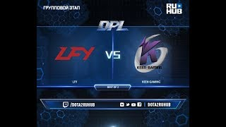 LFY vs Keen Gaming, DPL 2018, game 1 [Mila, Inmate]