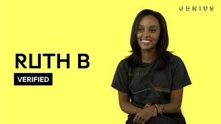 "Video Ruth B ""Lost Boy"" Official Lyrics & Meaning 