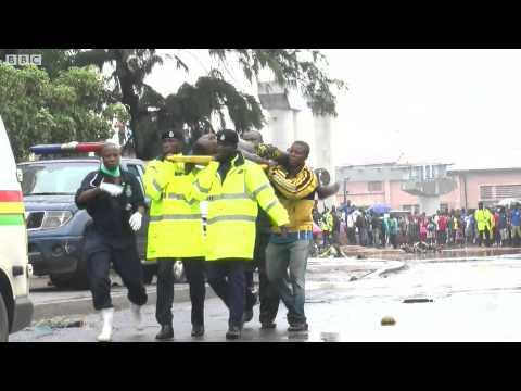 Yadda gobara ta hallaka mutane a Ghana