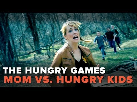 Hunger Games Parody – Mom vs. Hungry Kids! – Pretty Darn Funny