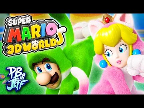 WE'RE CATS! - Super Mario 3D World | Wii U (Part 1)