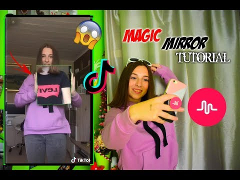 ZRCADLOVÝ EFEKT TUTORIAL MUSICAL.LY/TIKTOK