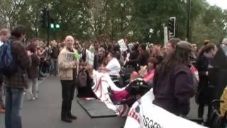 Download Video Disabled People Against Cuts Protest Hyde Park London 2012 MP3 3GP MP4