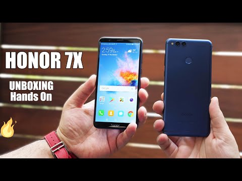 Huawei Honor 7X Unboxing And Hands on   First Impression   Camera