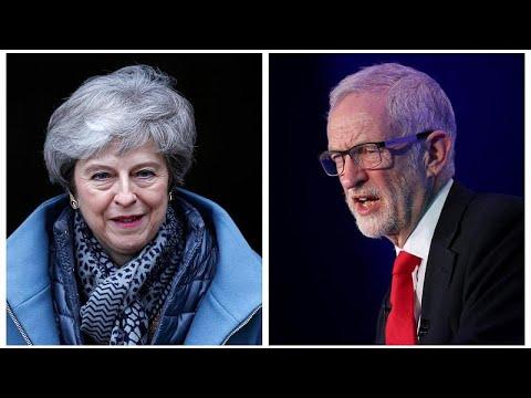 Großbritannien: Gegen May werden Korruptionsvorwürfe  ...