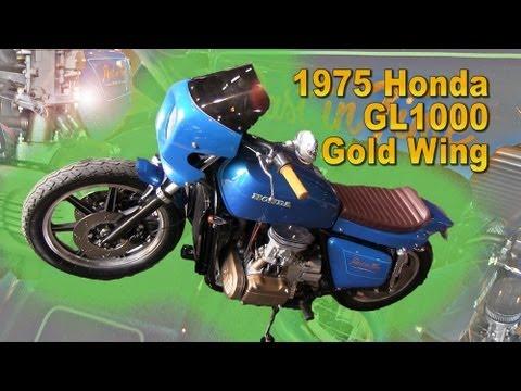 Clymer Manuals Honda GL1000 Custom Gold Wing Cafe Racer Vintage Motorcycle Video