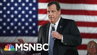 Governor Chris Christie Closes NJ Parks, But Still Hits The Beach | MSNBC