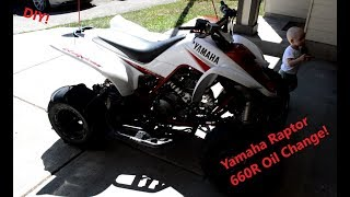 9. Yamaha Raptor 660R Oil Change
