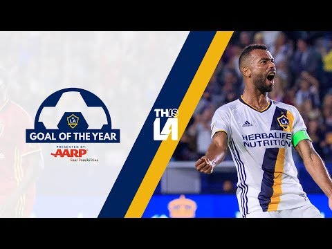 Video: LA Galaxy Goal of the Year | Ashley Cole