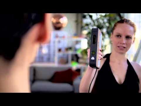 【3D Scanner】Sense 3D | 超輕巧手持掃描器